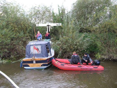 Clearing the way: Severn volunteers 'signed up' for an unusual river job