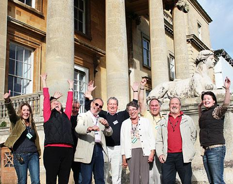 JOY: Staff and volunteers from Croome