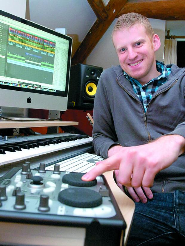 Alex Ross whose remix of Clegg's speech has had nearly two million hits online.