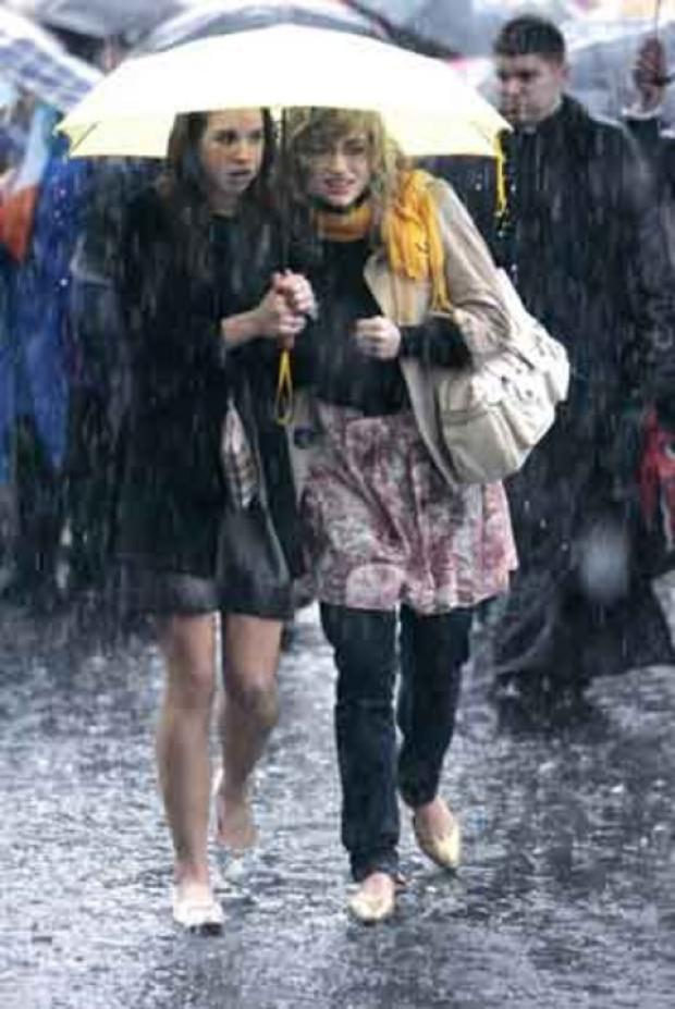 DOWNPOUR: Expect rain tonight