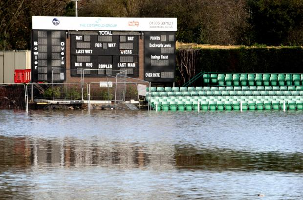 floods, worcestershire county cricket club