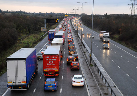 Police appeal for witnesses after M5 death