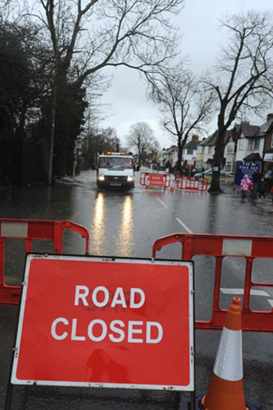 Several roads still closed following heavy rain in Herefordshire - see here for updates