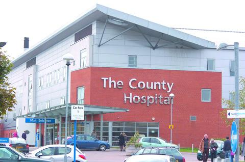 Pioneering operation at Hereford County Hospital