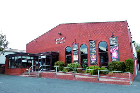 Bromyard's Conquest Theatre which opened at its current site 21 years ago