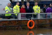 Environment Secretary Owen Paterson visits Waterside in Upton