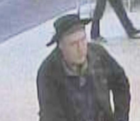Police issue images of poppy tin theft suspect