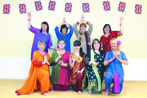Members of the House of Dance prepare for a Bollywood-style lesson.
