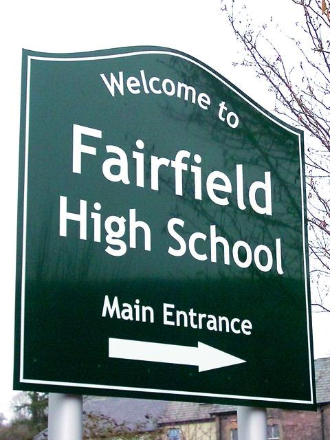 Fairfield High School is one school seeing a drop in funding