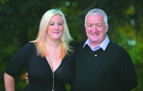 Car crash victim Lizi Birrell and brain expert Dr Dave Quinn are pleased with the success of the course.