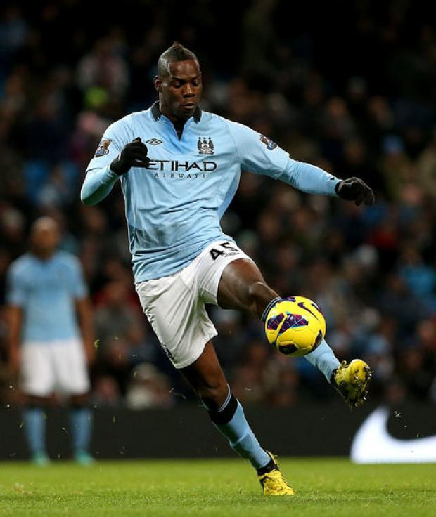 GOODBYE: Manchester City's Mario Balotelli is off to AC Milan