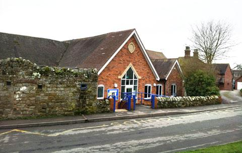 UNDER THREAT: Whitbourne Primary School faces closure