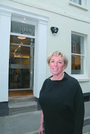 Cherry Savidge, who has opened a new shop in East Street, says Hereford needs more independent stores. Pic Eye Contact Media