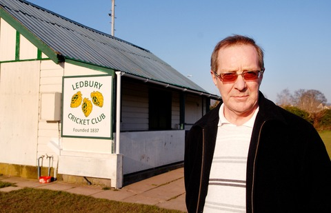 CONCERNS: Bob Barnes, chairman of the Sports Federation, at Ledbury Cricket Club. By Paul Jackson. 0813251501.