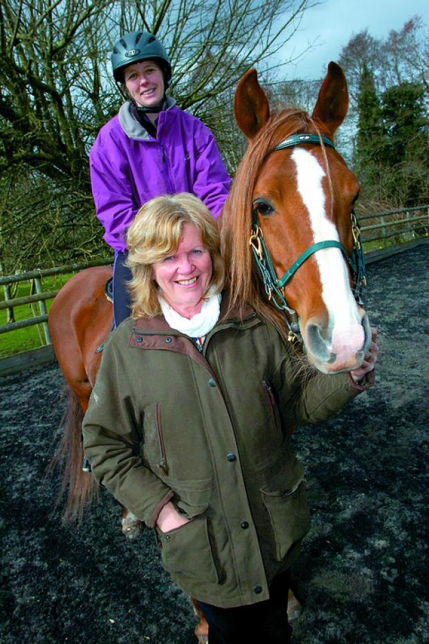 Breeder and trainer Jenny Lees, pictured with stud manager Amanda May and Shuwaiman Al Rais in Preston-on-Wye, was one of many to welcome the news.