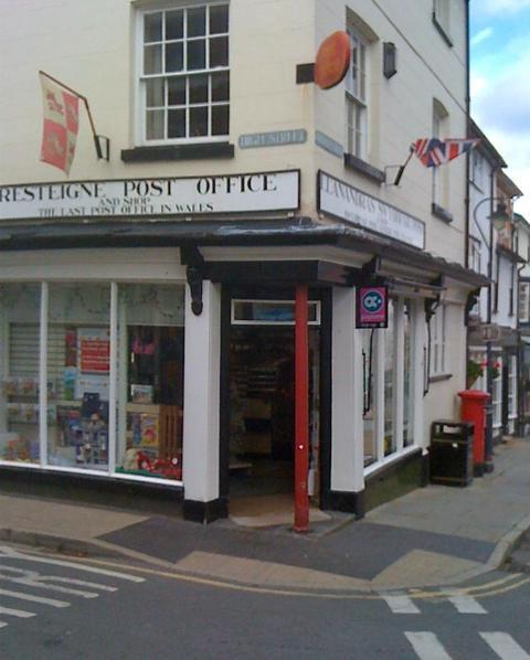Presteigne Post Office set to close