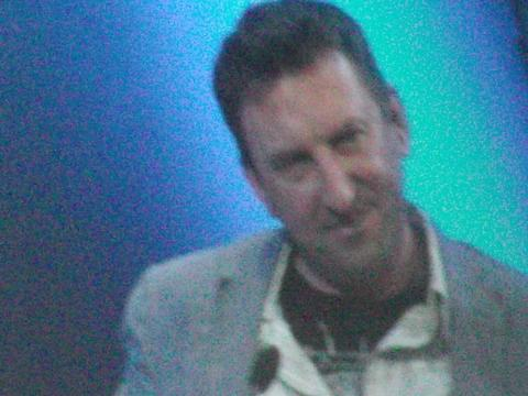 Lee Mack will be appearing at Hay Festival.