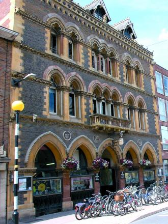 Hereford library.