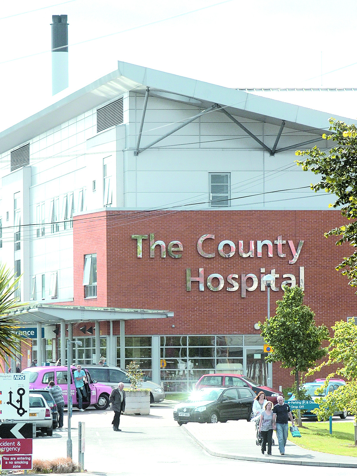 ACTION NEEDED: The County Hospital in Hereford has a number of issues to be tackled.