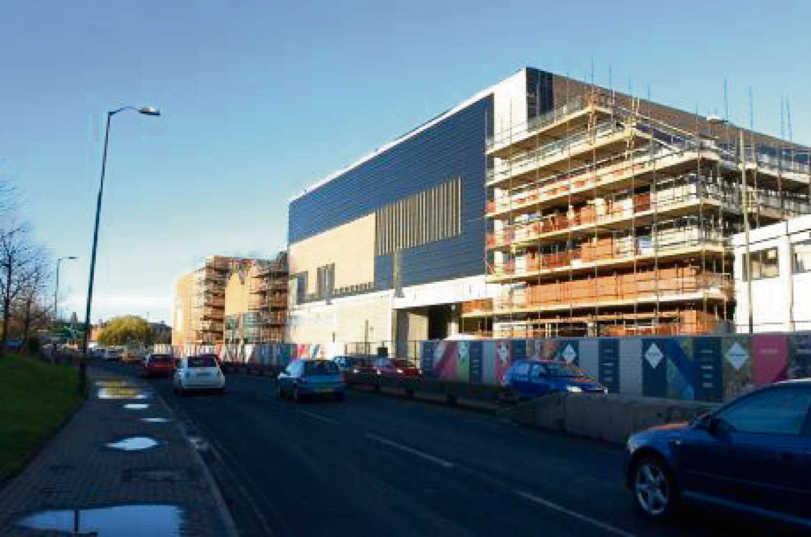 Debenhams, on the the Old Market development, is set to open it's doors in April.