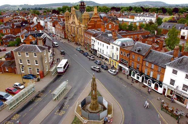 On street parking charge option for Hereford