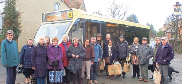 CAMPAIGNERS have vowed to fight on in a bid to save a 'lifeline' bus service.