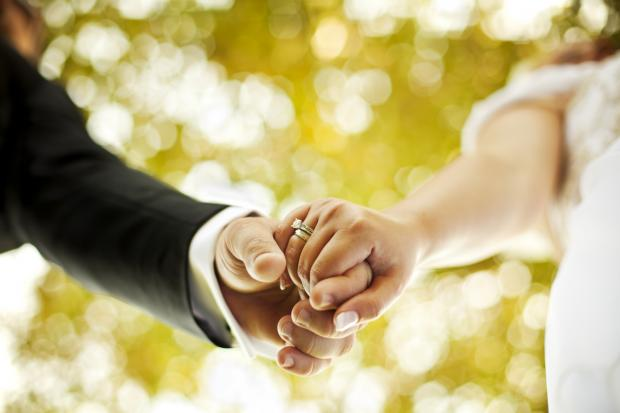 Couples are invited to reaffirm their marriage vows.