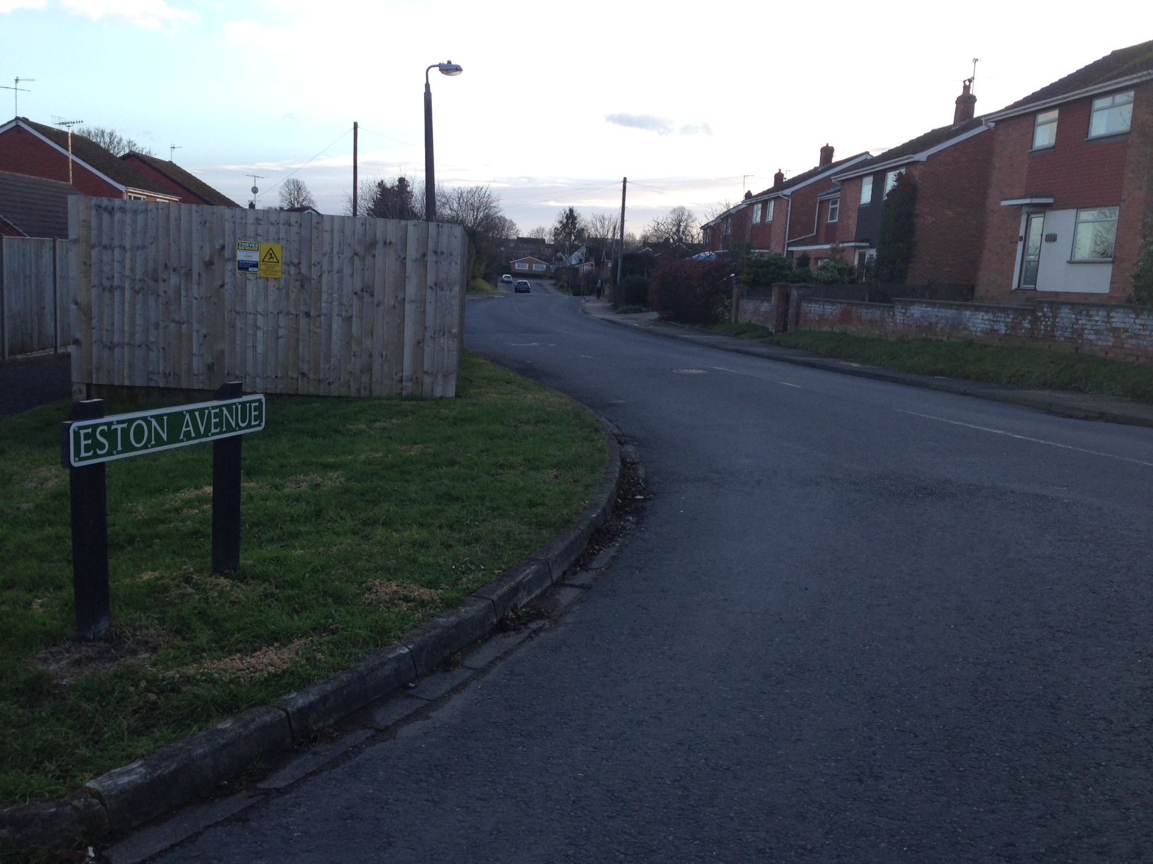 SHOCK: Residents of Eston Avenue, Malvern, are reeling after a pensioner died from a head injury. A man was arrested.