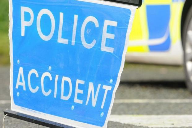 Cyclist taken to hospital following collision