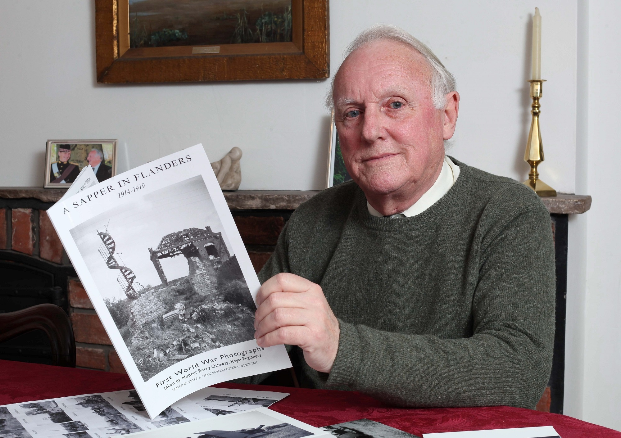 Hereford man discovers rare First World War snaps hidden away in attic