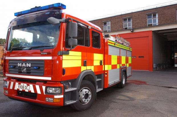 Ledbury Reporter: Fire crews helped to rescue the elderly people yesterday.