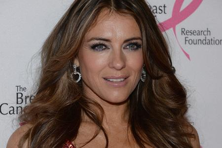 Elizabeth Hurley took to twitter to call Clinton stories
