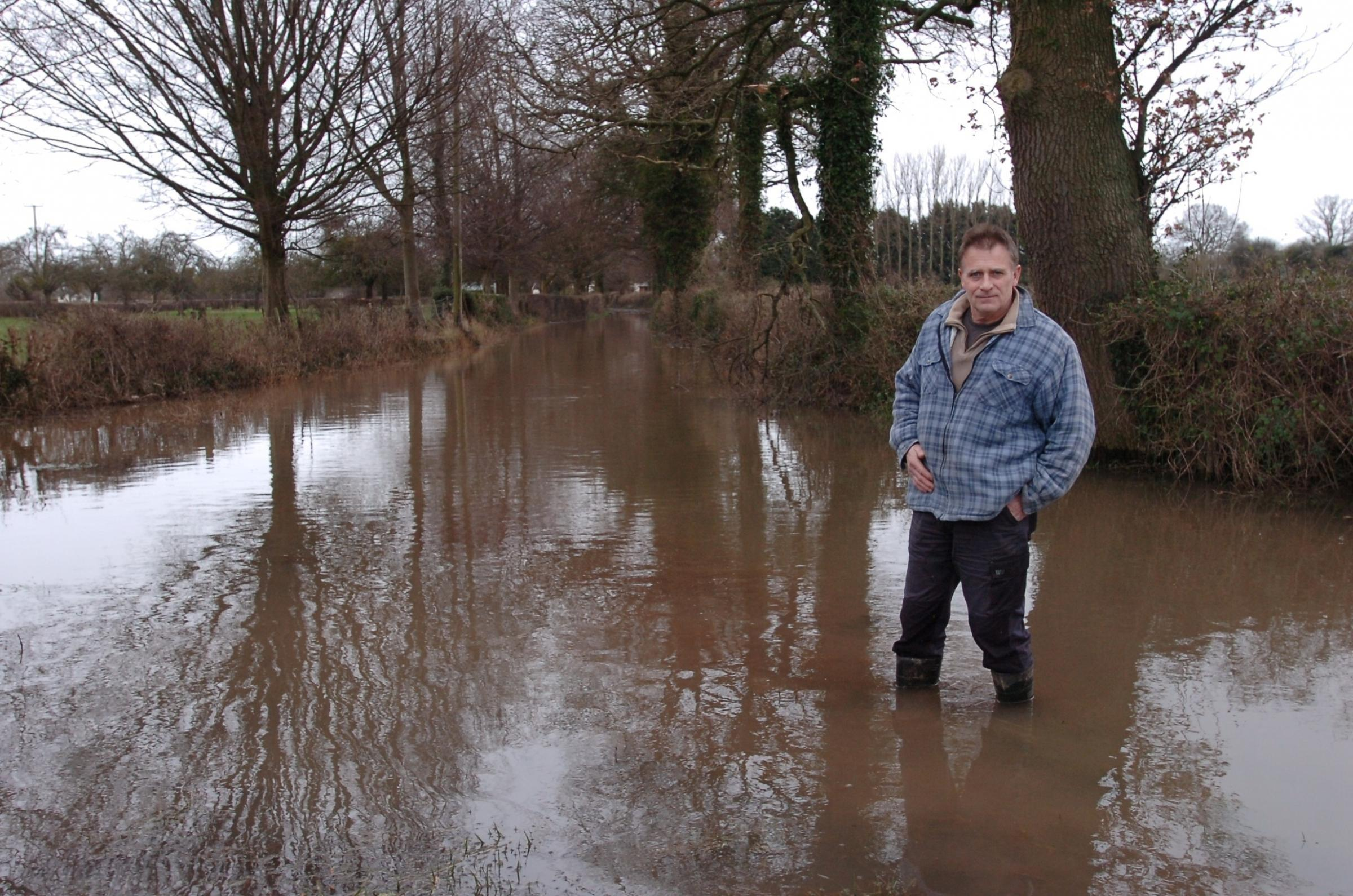 Madley residents stranded due to floods