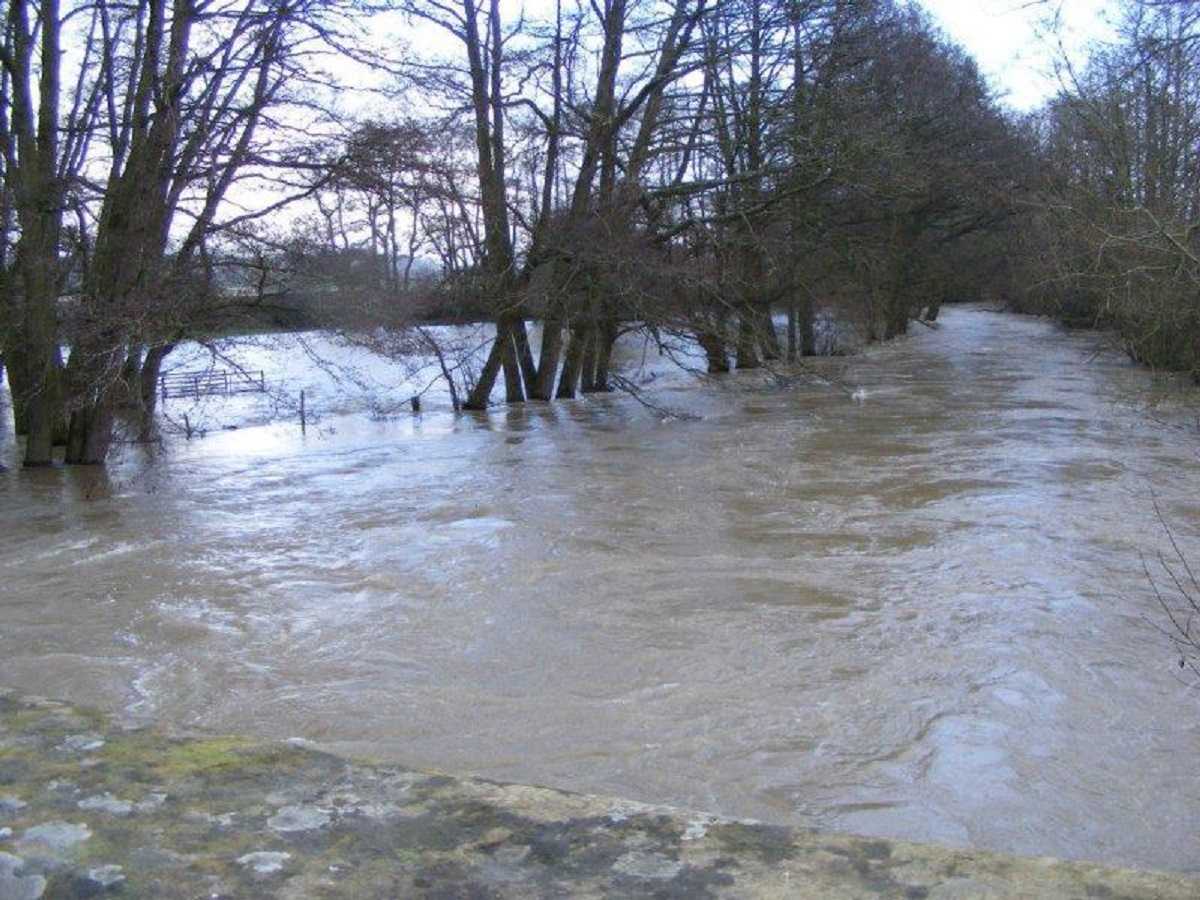 Heavy rain and strong winds have battered the county this weekend.