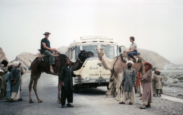 Ledbury Reporter: Tourists meet the locals as they make their way through Pakistan.