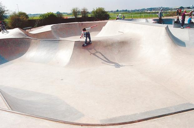 Hereford skate park is set to get some toilets as part of an ongoing development.