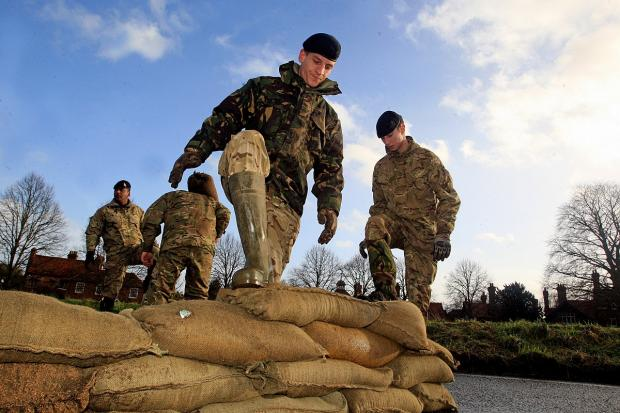 Military to help Herefordshire residents cope with today's flooding