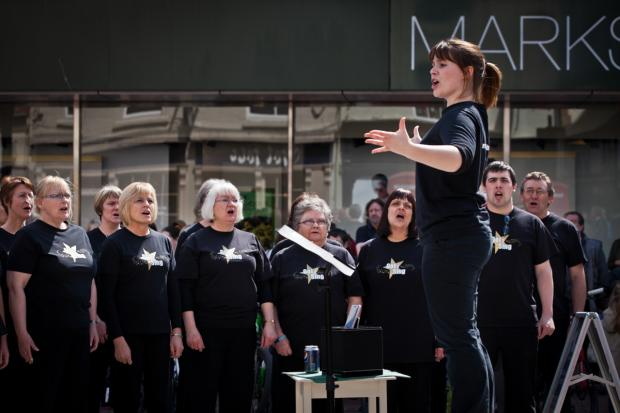 The Got 2 Sing community choir will perform in High Town on Saturday. Picture: Tim Dale Photography.