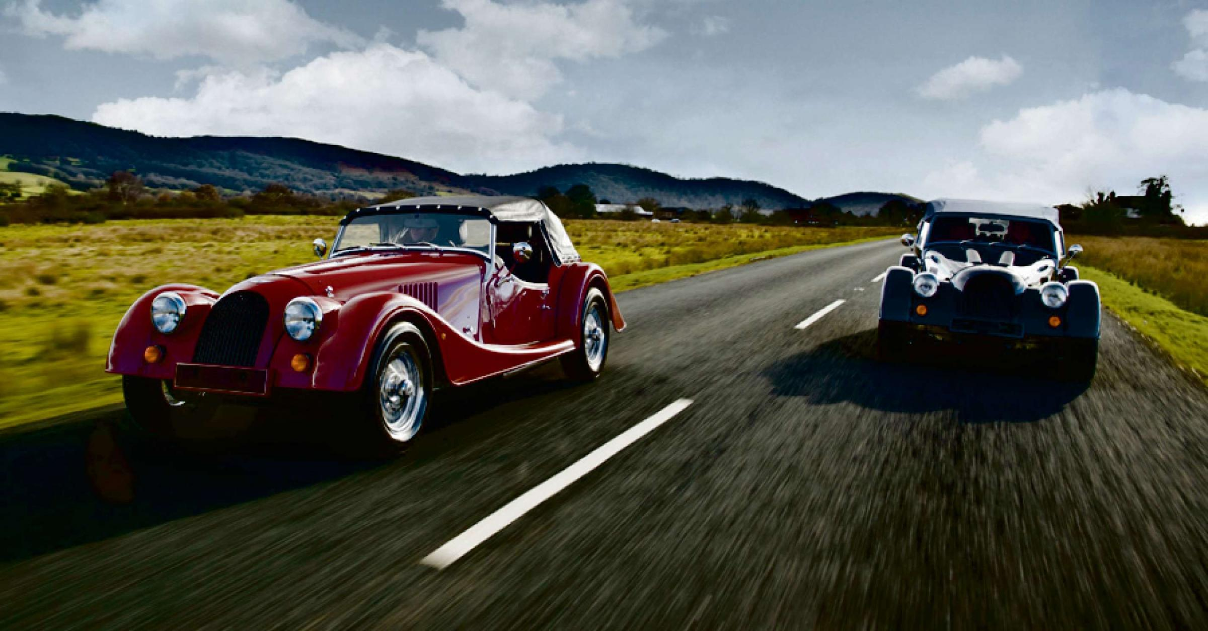 Morgan unveil new models at the Geneva Motor Show