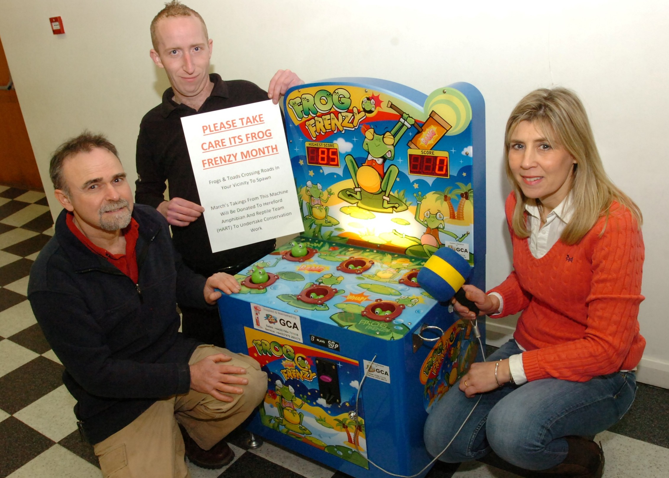 Leominster business raising awareness of toads on roads