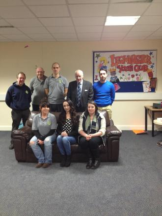 Youth workers, campaigners and volunteers are united in saving Leominster's youth service.