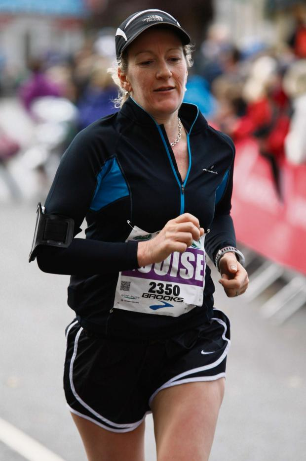Ledbury Reporter: Louise Price's next challenge is the Greater Manchester Marathon in April.