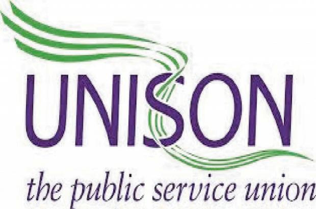 UNISON members will be staging a rally tomorrow to highlight their low pay.