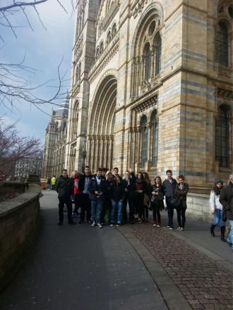 "Students from Hereford's Saturday Polish School in London earlier this month. The trip was made as part of the ""saving from forgetting"" project. (4875231)"