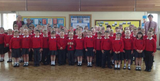 Leominster Infant's School choir wowed judges in the competition last week.