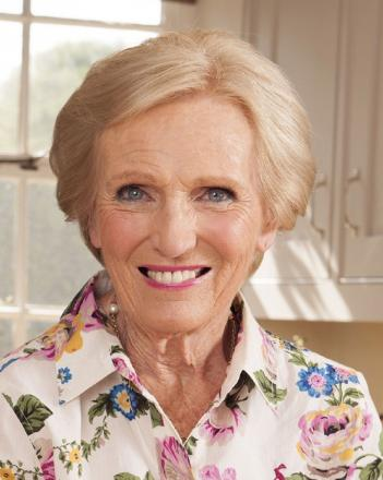 Mary Berry judges budding bakers at Herefordshire primary school
