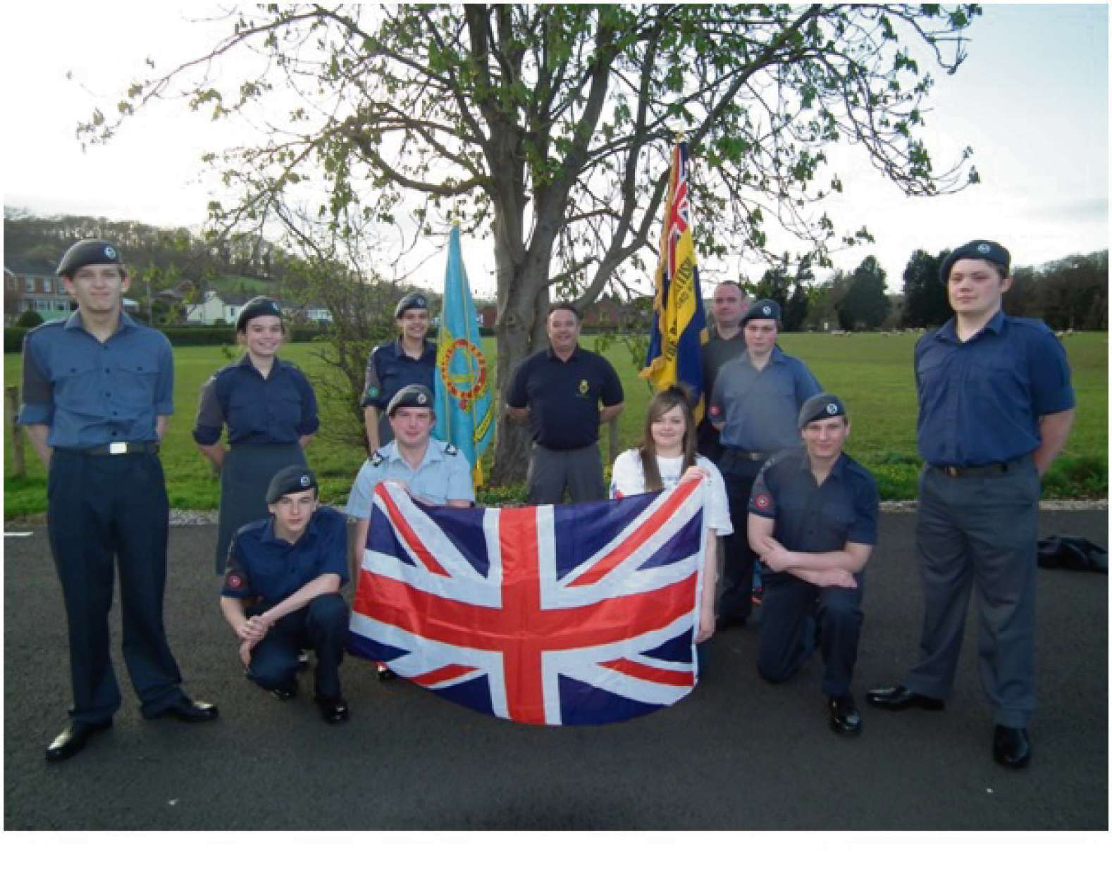 Members of the Royal British Legion in Hereford will take part in a 20 mile endurance walk with Armed Forces cadets.