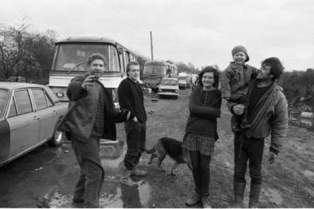 Ledbury Reporter: New Age Travellers back in 1994.