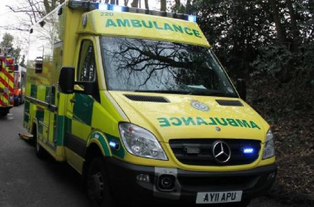 Two cars involved in collision near Ledbury this morning