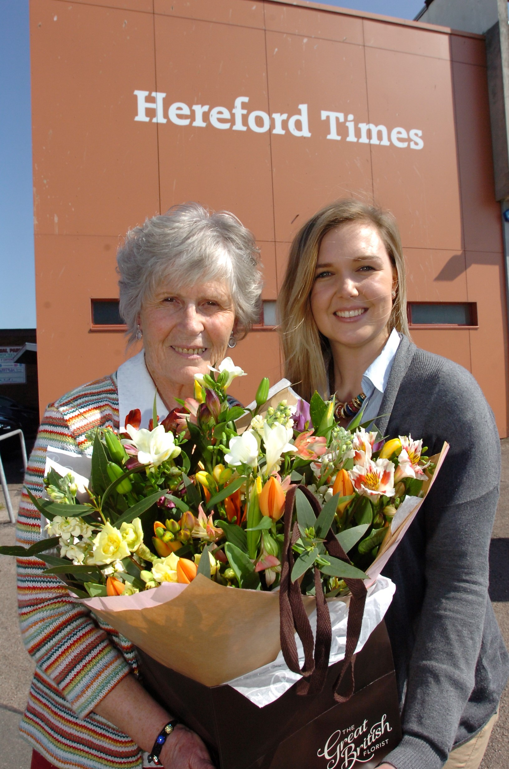 Hereford woman who cared for elderly neighbour for 20 years is a Herefordshire Hero
